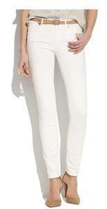 Madewell skinny skinny white jeans 27x32
